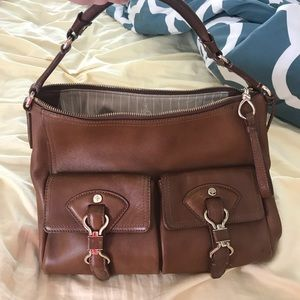 Cole Haan tan leather purse